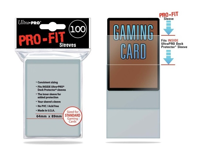 Card Game Sleeves Pro Fit