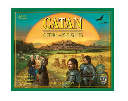 SETTLER OF CATAN CITIES AND KNIGHTS