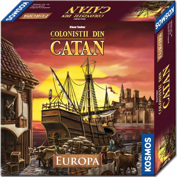COLONISTII DIN CATAN EUROPA
