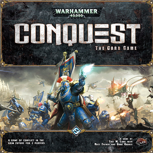 WARHAMMER 4000 CONQUEST CARD GAME