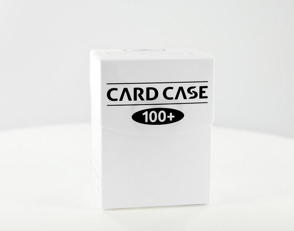 DECK BOX WHITE 100 CARDS
