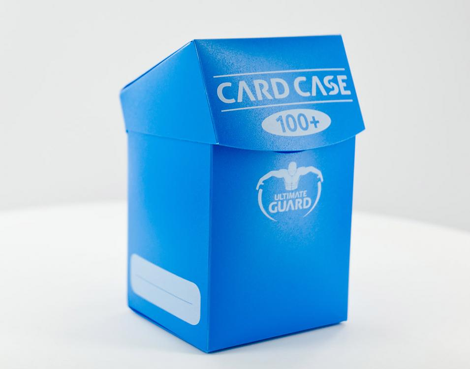 DECK BOX BLUE 100 CARDS