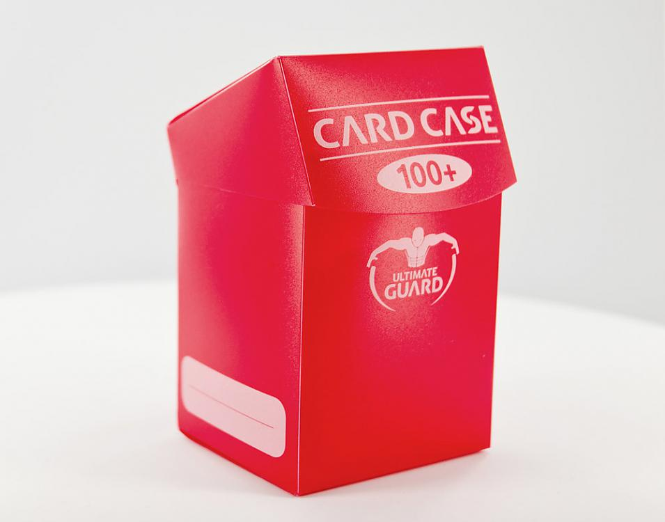 DECK BOX RED 100 CARDS