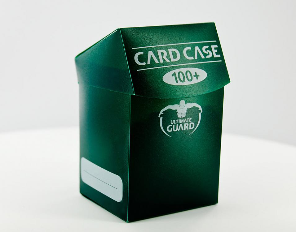 DECK BOX GREEN 100 CARDS