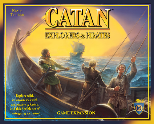 SETTLERS OF CATAN EXPLORERS AND PIRATES