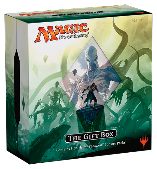 MTG BATTLE FOR ZENDIKAR HOLIDAY GIFT BOX