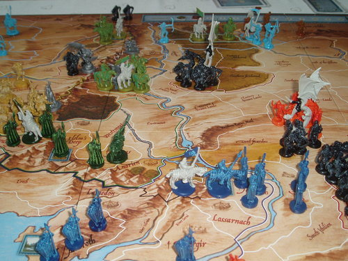 WAR OF THE RING BATTLES OF THE THIRD AGE
