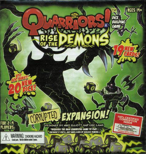 QUARRIORS RISE OF THE DEMONS EXPANSION