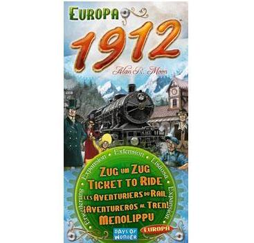 TICKET TO RIDE 1912 EUROPE